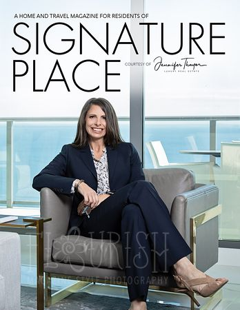 Magazine Cover Design - Jennifer Thayer | Realtor Today Q2