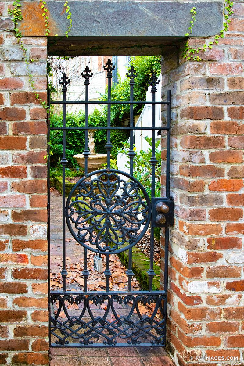 OLD IRON GATE HISTORIC SAVANNAH GEORGIA