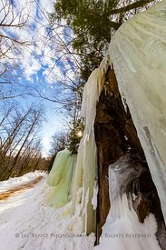 Ice Formations Northwest of Marquette