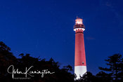 Old Barney Under the Stars, Barnegat Lighthouse, Long Beach Island, New Jersey