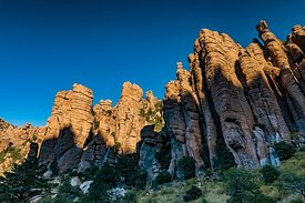 Rock Pinnacles in Chiricahua National Monument