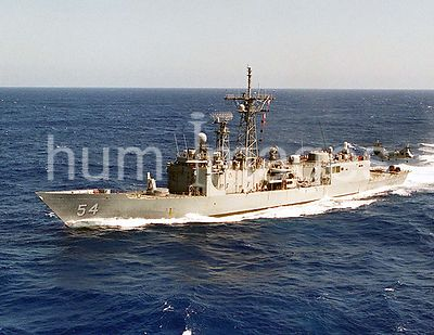 1997 - Operation Southern Watch - The Perry-class guided missile frigate USS FORD (FFG 54)