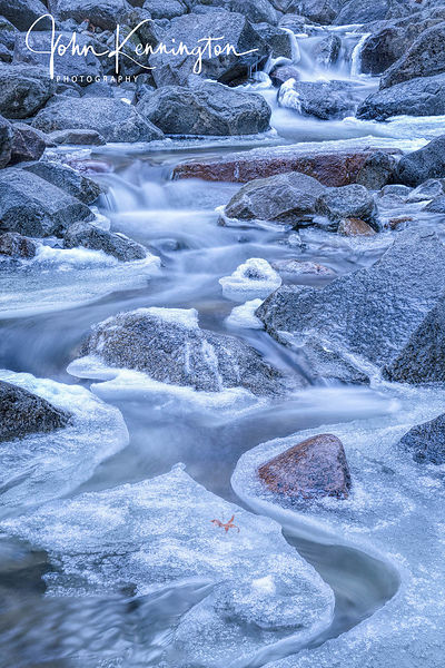 Bridalveil Creek Ice, Yosemite National Park, California