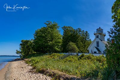 Mission Point Lighthouse, Lake Michigan, Traverse City, Michigan