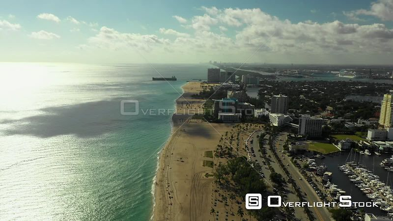 Colorful Aerial Video Tour Fort Lauderdale Florida