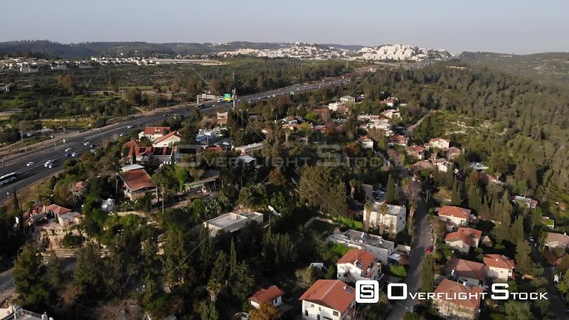 Jerusalem Village Residence Shoresh Aerial View
