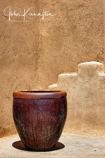 Taos Urn, Ranch de Taos, New Mexico.
