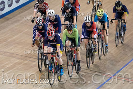 Junior Women Scratch Race/Omni I.  2020 Ontario Track Championships, March 7, 2020