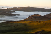 View above the clouds, Sehlabathebe National Park, Lesotho