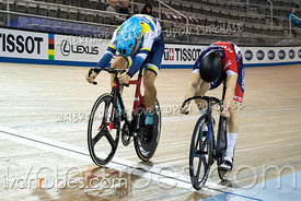 Junior Men Sprint 1/2 Final. 2020 Ontario Track Championships, March 8, 2020