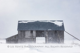 Barn in Michigan's Upper Peninsula