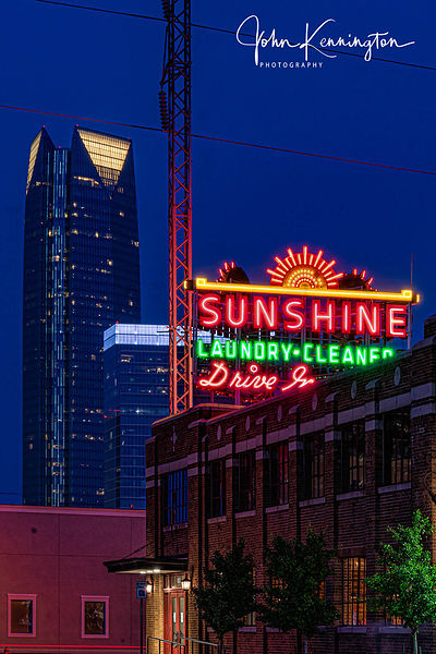 Sunshine Laundry No. 1, Route 66, Oklahoma City