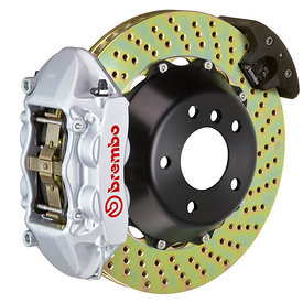 brembo-p-caliper-4-piston-2-piece-345-365-380mm-drilled-with-hand-brake-silver-hi-res