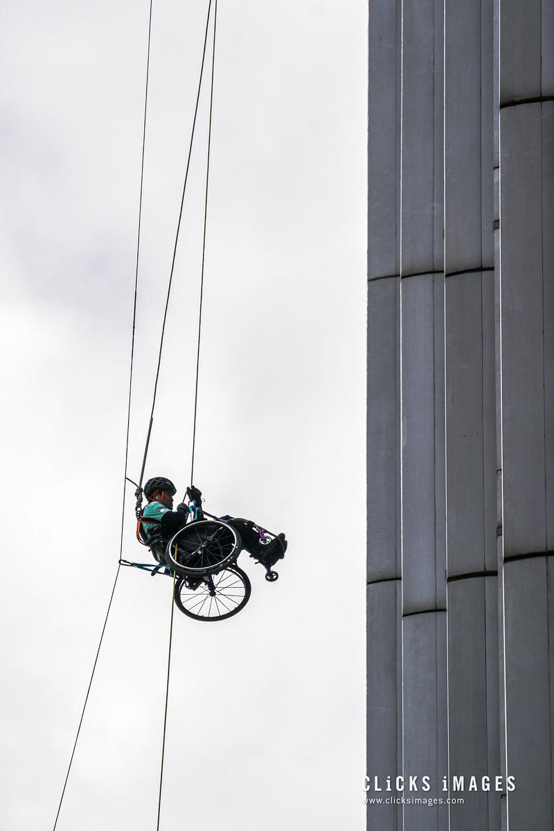 Wheelchair Climber Lai Chi-wai Challenges To Summit 320-Metre Skyscraper