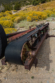 Old Mining Equipment near Osceola, Nevada