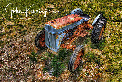 Ford 2N Tractor, Route 66, Moriarty, New Mexico
