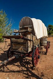 Conestoga Wagon in Pipe Spring National Monument