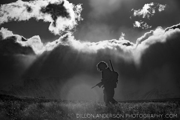 A soldier walks amoung the tussock...Exercise YPRES.Soldiers from our Reserve Force in the South Island 2nd/4th Battalion, Ro...