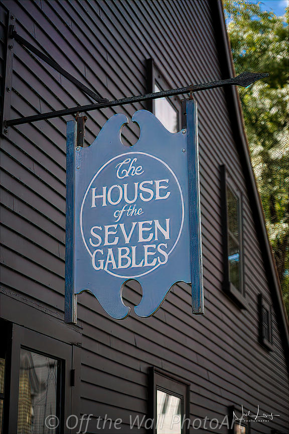 House of Seven Gables Sign