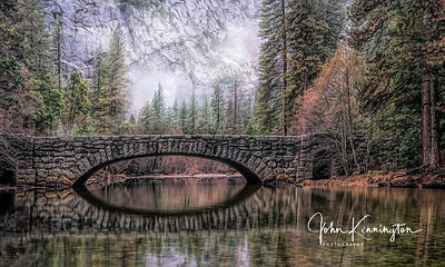 Stoneman Bridge, Yosemite National Park, California