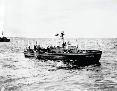 probably June 1944 - The USCG-6 (83334) off Normandy.