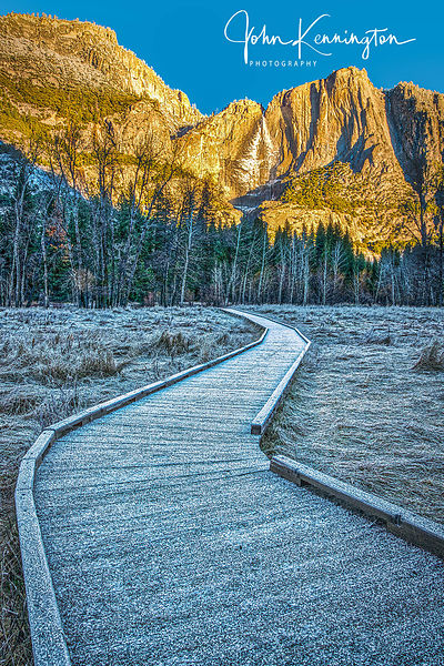 Sunrise at Yosemite Falls, Yosemite National Park, California