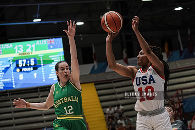 USA v AUS -2019 Summer Universiade