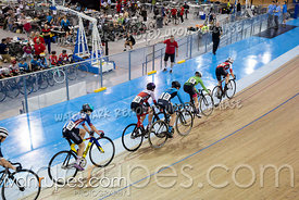 U17 Women Scratch Race/Omni I.  2020 Ontario Track Championships, March 7, 2020