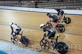 Master C Men Keirin 1-6 Final. Canadian Track Championships, September 28, 2019