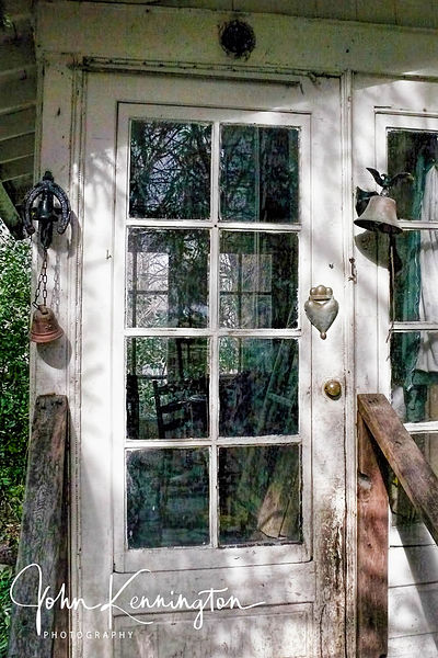 Back Porch Door, Summit, New Jersey