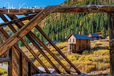 Duncan House, Animas Forks Ghost Town, Colorado
