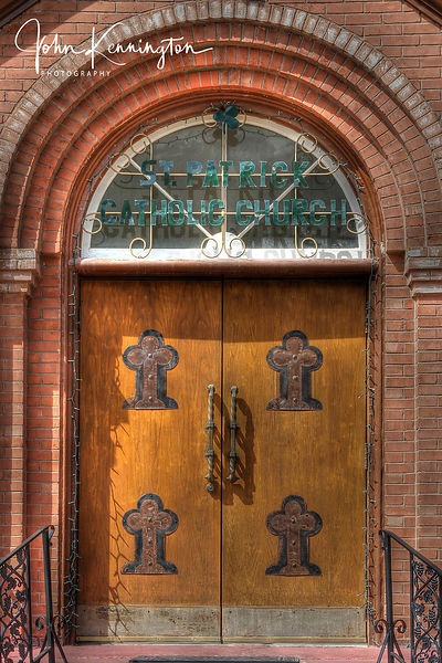 St Patricks Door, Silverton, Colorado