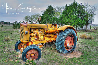 Old MM Tractor, Cimarron County, Oklahoma