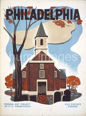 Philadelphia Old Swedes Church ca. 1936-1941