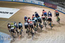 U17 Men Scratch Race/Omni I.  2020 Ontario Track Championships, March 7, 2020