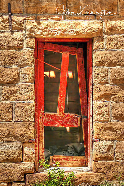 Screen Door, Cimarron County, Oklahoma