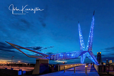 Skydance Bridge No. 2, Route 66, Oklahoma City