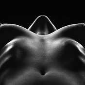 Nude woman bodyscape 29