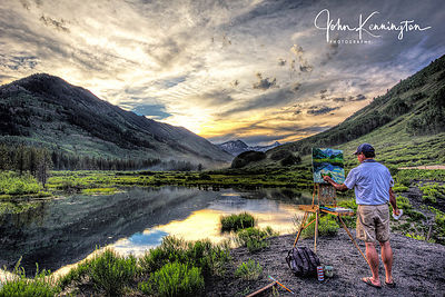 Painting a Masterpiece, Crested Butte, Colorado