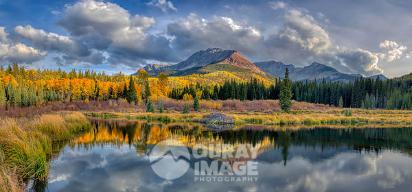 Wilson Peak Fall Reflections - Large print option