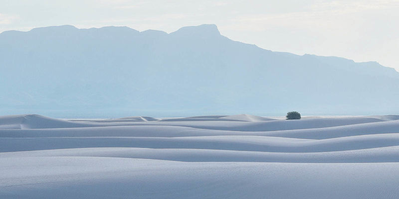 White Sands Panoramic No. 2, White Sands National Monument, New Mexico