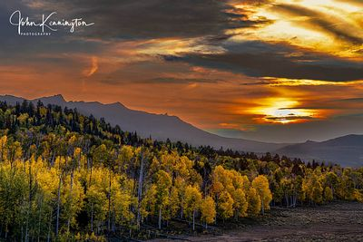 Mount Sneffels Range Sunset, Uncompahgre National Forest, Colorado