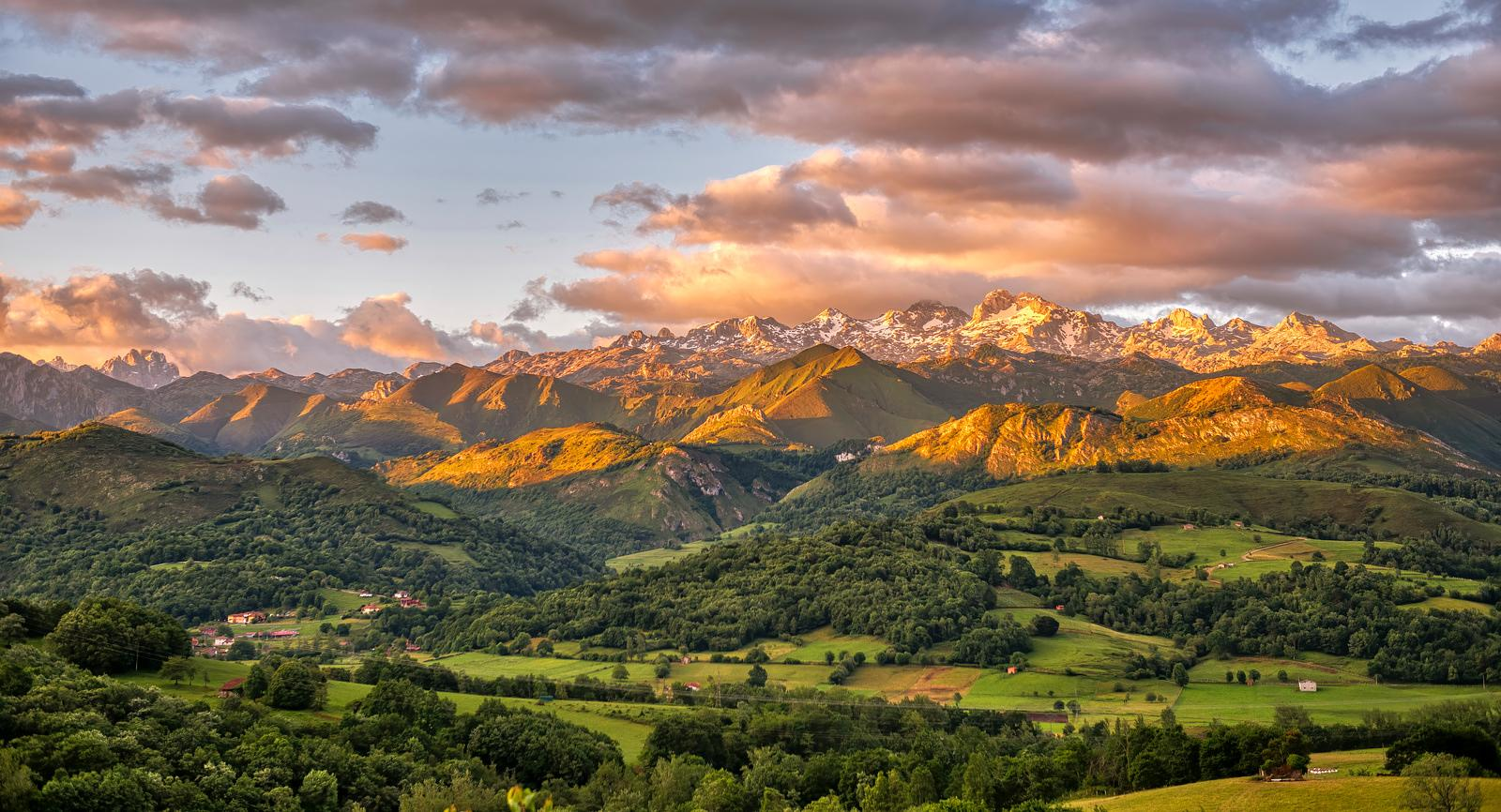 Southern Range of the Picos de Europa mountains, Spain