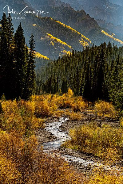 Cimarron River, Uncompahgre National Forest, Colorado
