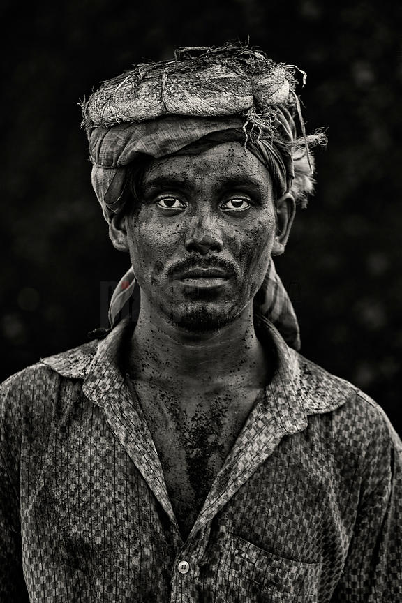 Portrait of a Coal Worker