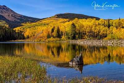 Wood Lake Reflection No 2, Uncompahgre National Forest, Colorado
