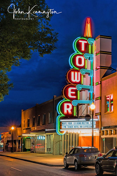 Tower Theatre, Route 66, Oklahoma City