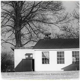 AMISH ONE-ROOM SCHOOLHOUSE