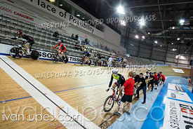 Master AB Men Elimination Race/Omni III. 2020 Ontario Track Championships, March 8, 2020