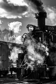 Steam Locomotive on the Cumbres & Toltec Scenic Railroad